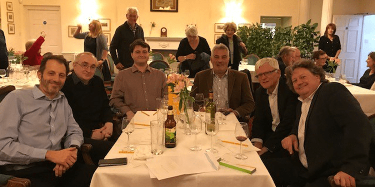 First place at the County Club Quiz