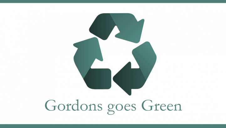 Gordons Goes Green