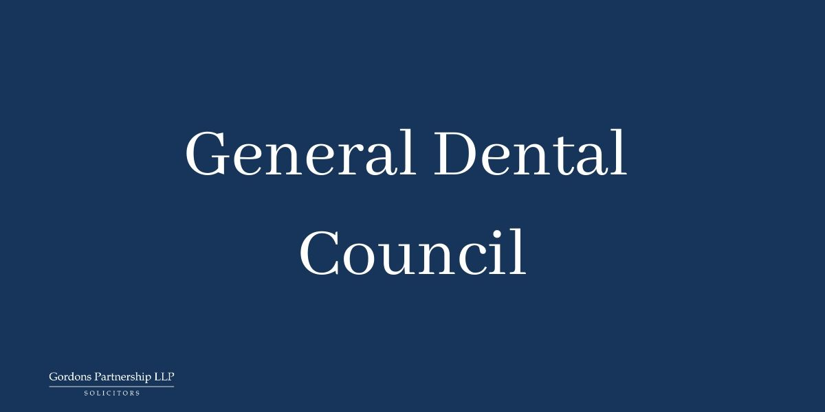 COVID-19: GDC's position on regulation of the dental profession during the current crisis