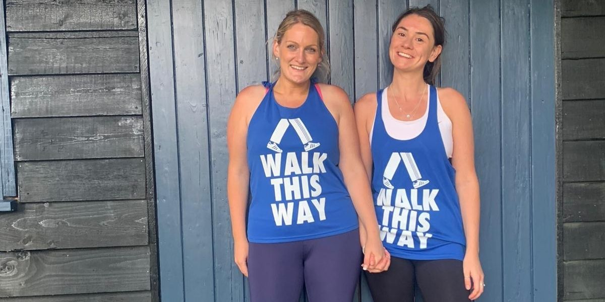 Sisters walk 14 hours straight for local charity